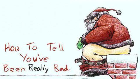 Santa-Shitting-Christmas-Card